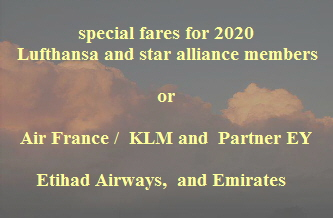 special fares for 2020